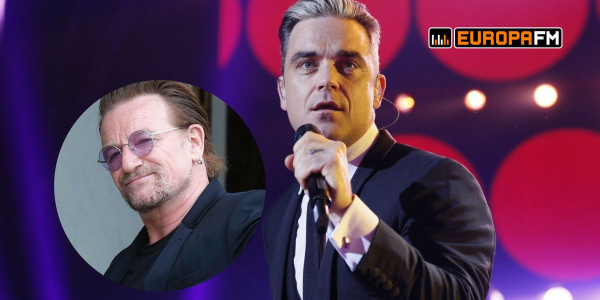 Robbie Williams y Bono