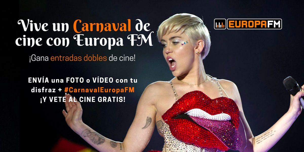 Carnaval de cine en Europa FM