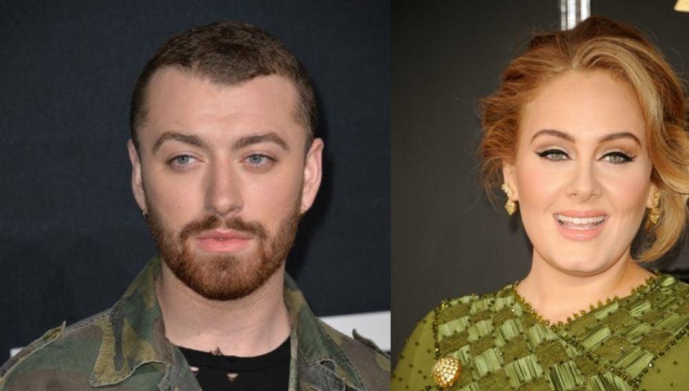 Adele y Sam Smith