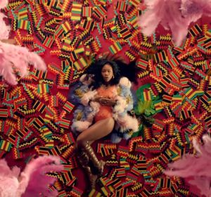 SZA en el videoclip de 'All the Stars'