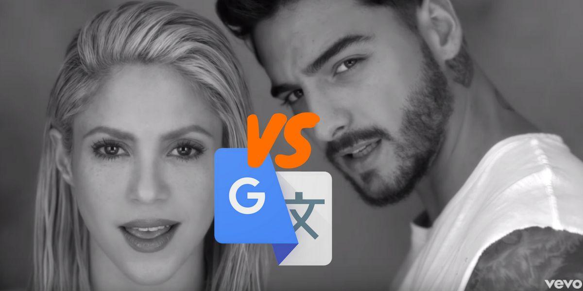 Google Translate canta 'Trap' de Shakira y Maluma
