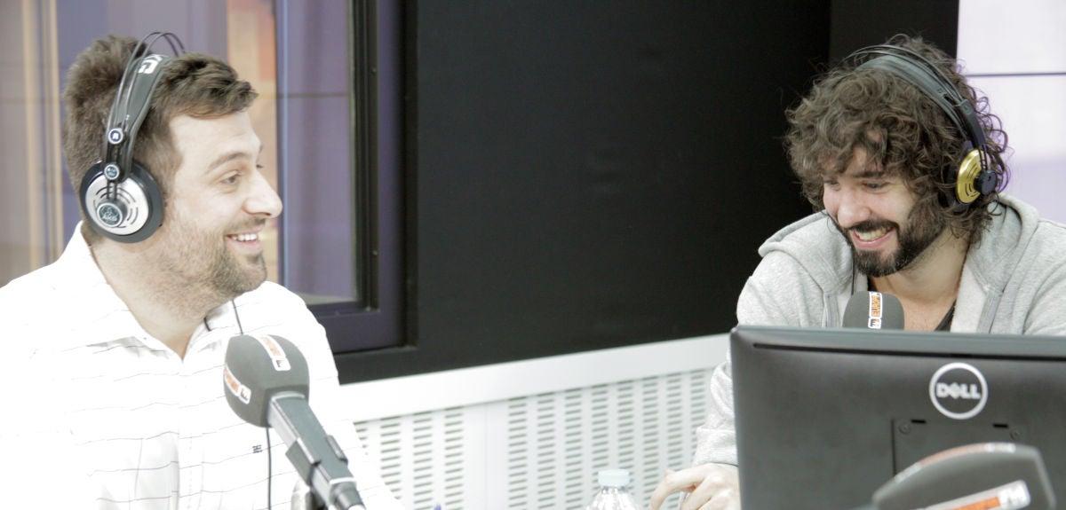 Mikel Izal con Tony Loarces en We Sound