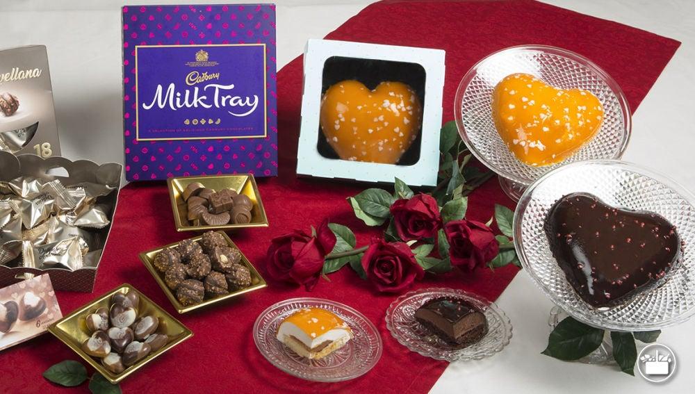 Productos de San Valentín de Mercadona