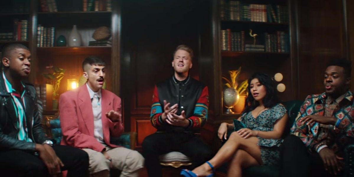 Pentatonix versionando 'Havana' de Camila Cabello