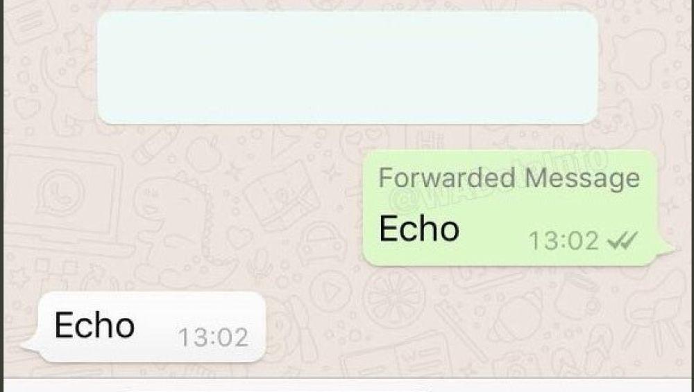 WhatsApp alertará sobre los mensajes reenviados
