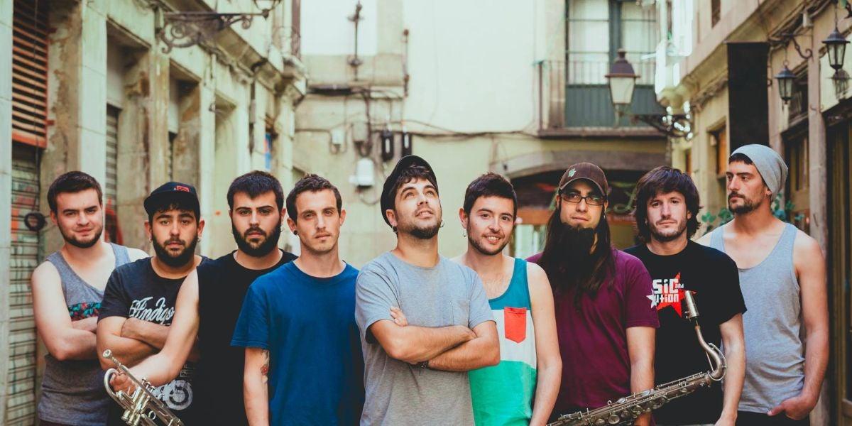 La banda catalana Txarango