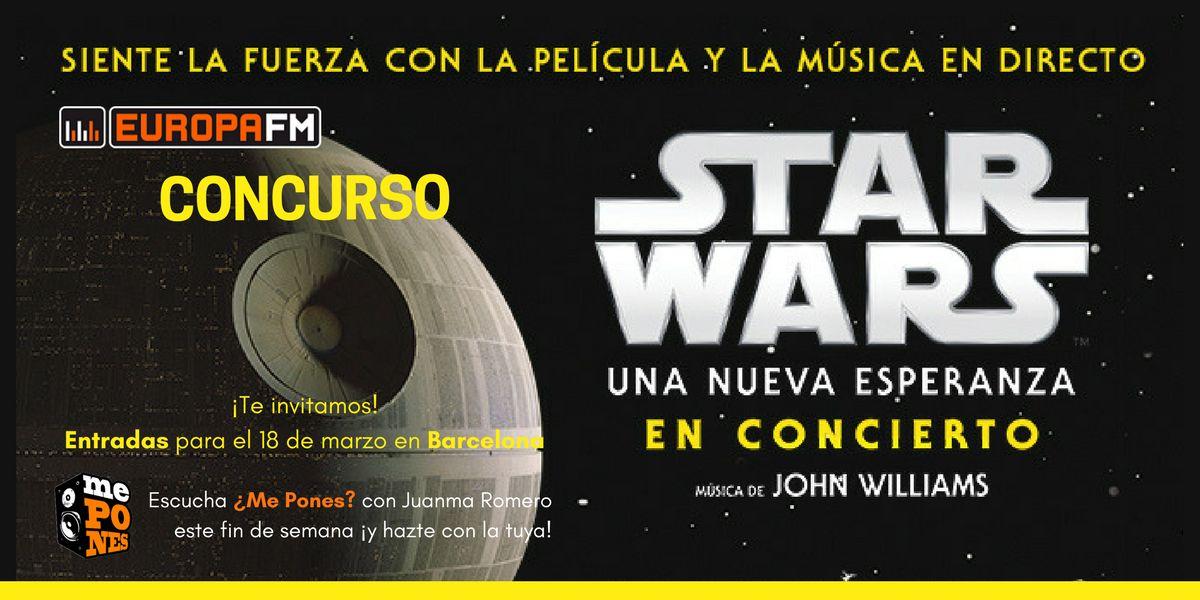 ¿Me Pones? te invita al concierto Star Wars