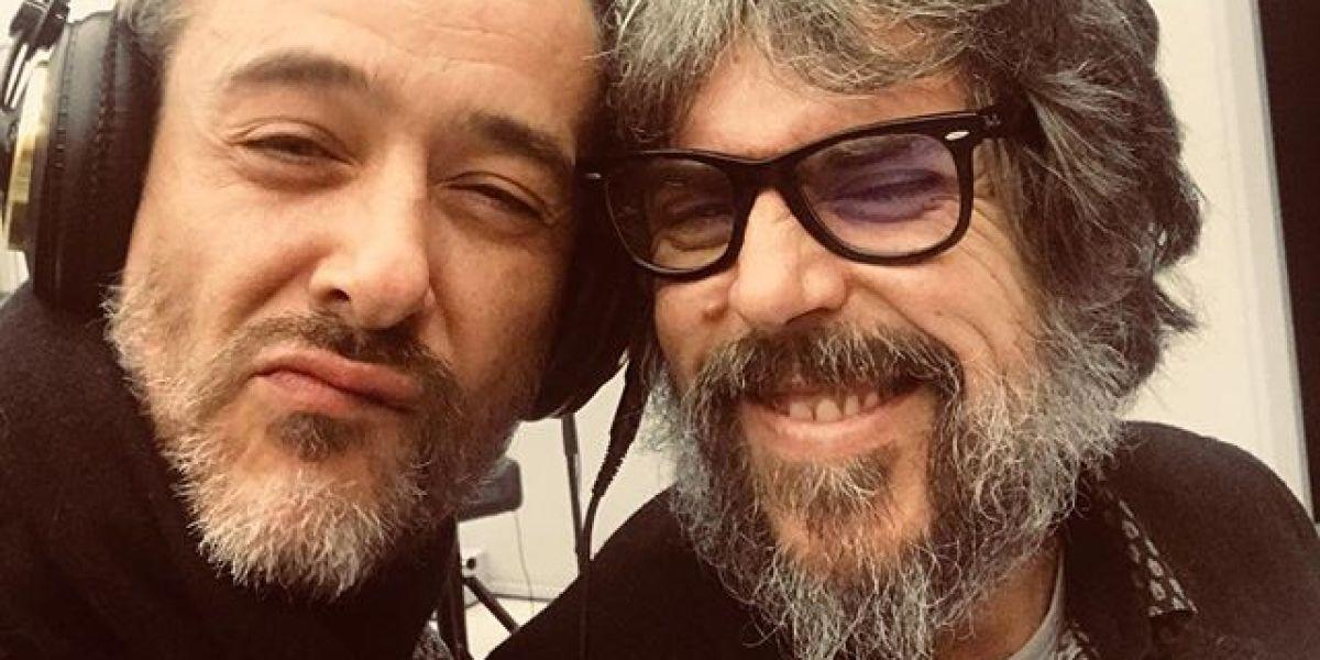 Santi Balmes e Iván Ferreiro