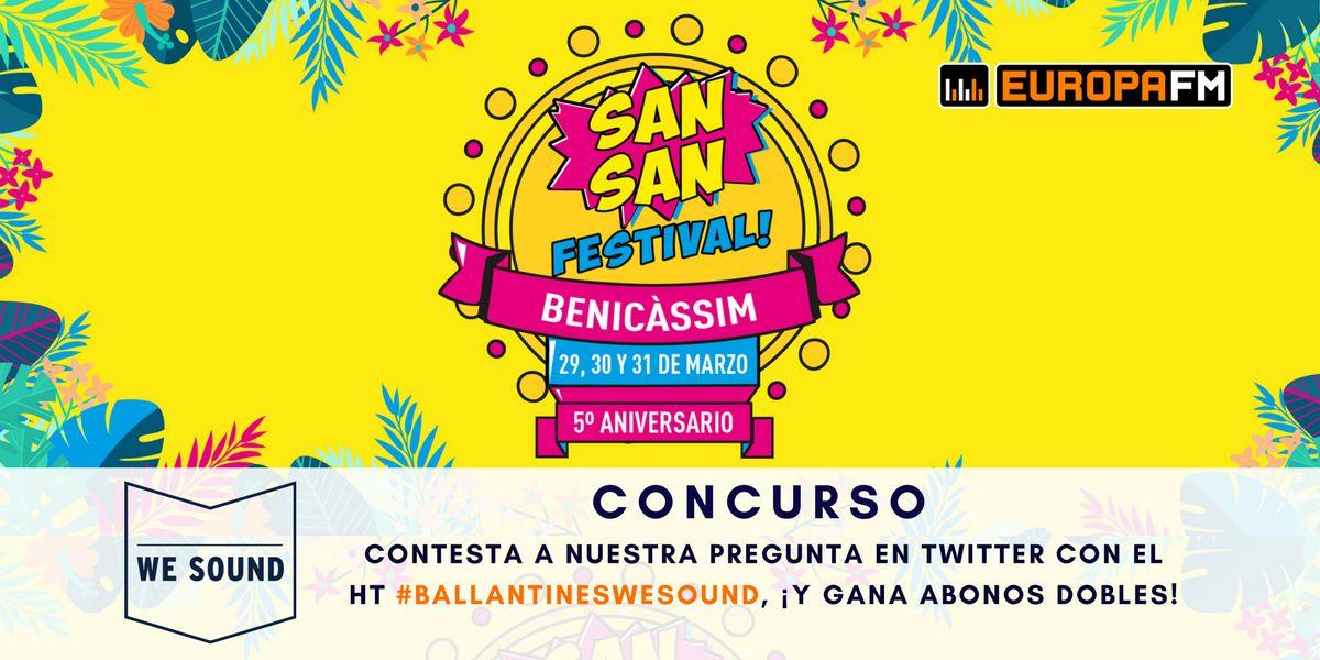 Concurso SanSan Festival en We Sound