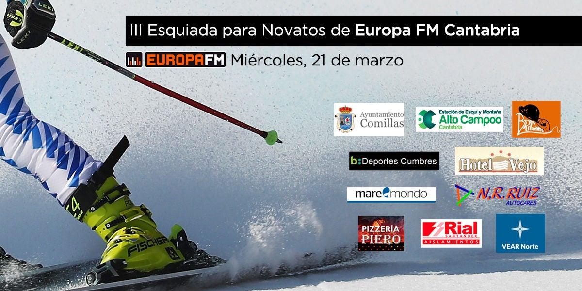 III Esquiada para Novatos de Europa FM Cantabria