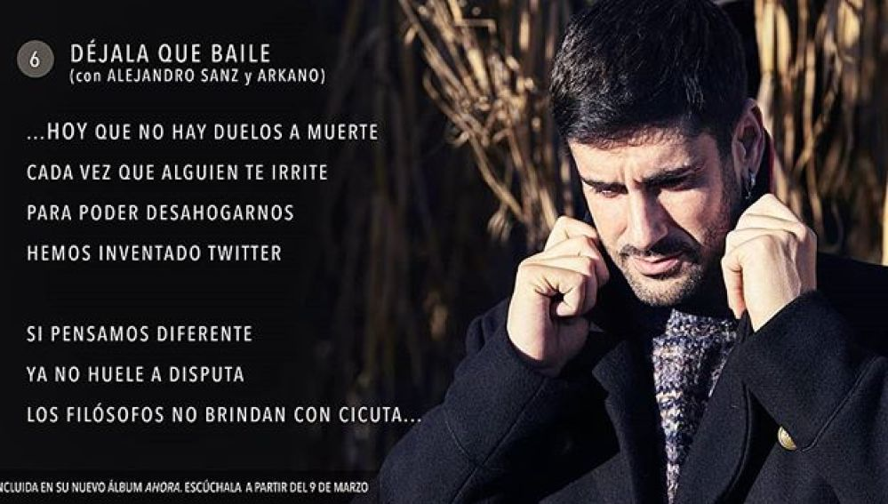 Melendi lanza 'Déjala que baile', con Alejandro Sanz y Arkano