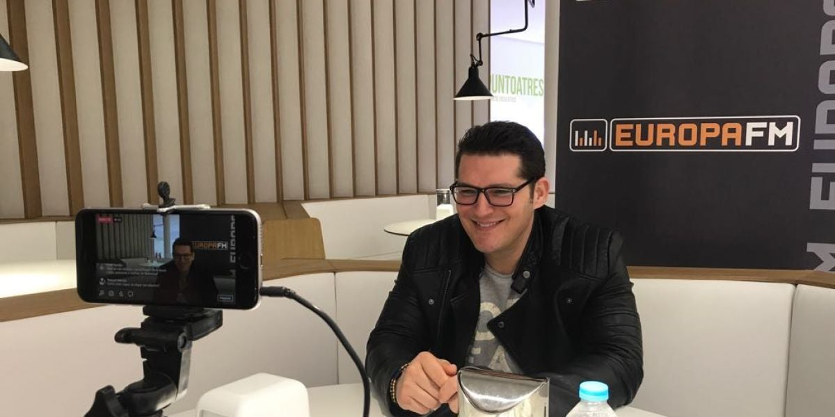 Manu Tenorio en Europa FM