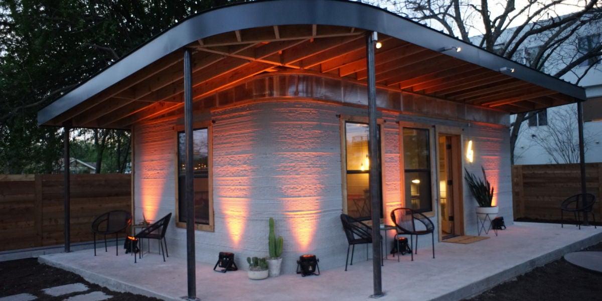 Casa impresa en 3D