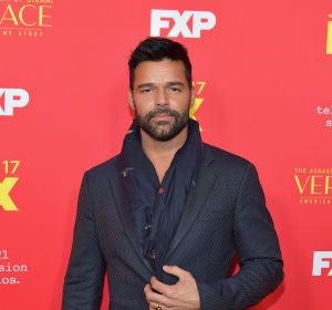 Ricky Martin en la premiere de 'The Assassination Of Gianni Versace: American Crime Story'