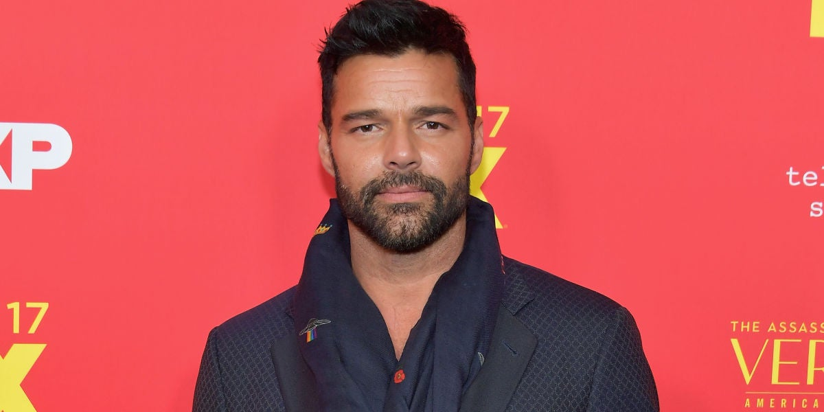 Ricky Martin en la premiere de 'The Assassination Of Gianni Versace: American Crime Story'