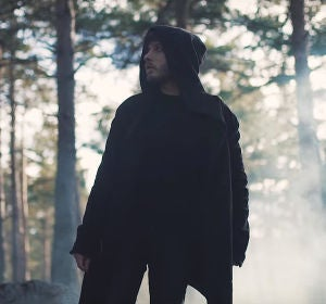 Blas Cantó en el vídeo de 'Él No Soy Yo'