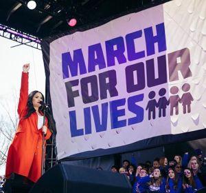 Demi Lovato en la March For Our Lives