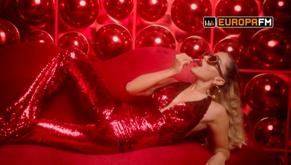 Anitta en el vídeo de 'Indecente'