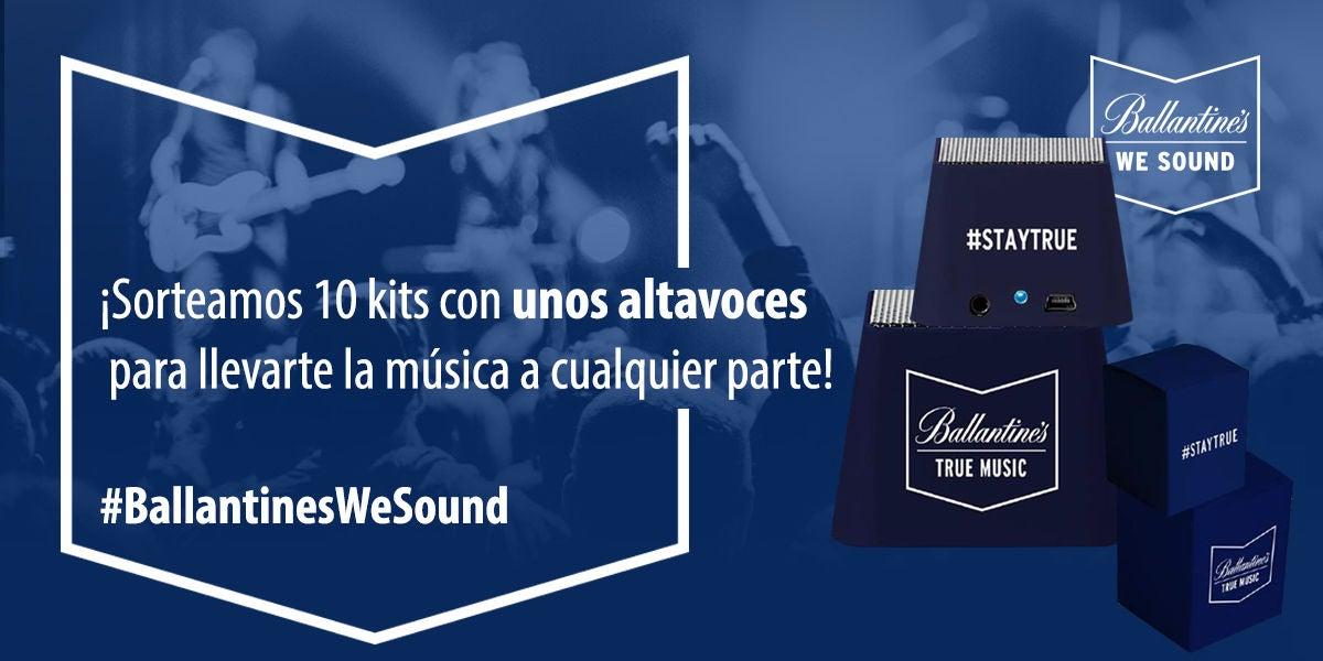 ¡Gana unos altavoces Ballantine's We Sound!