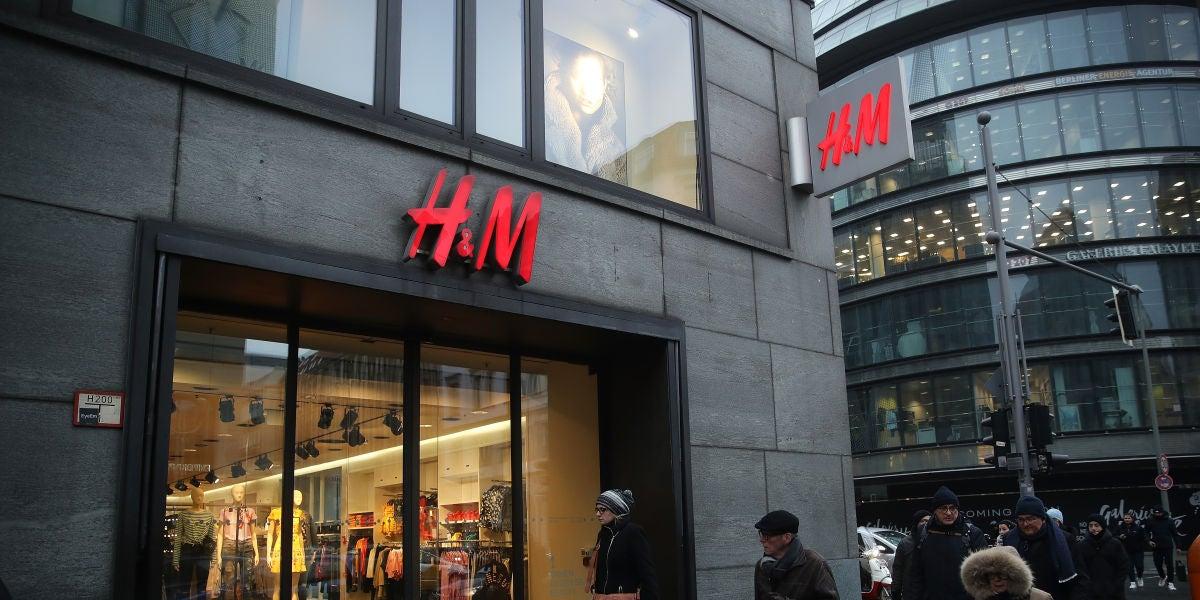 Tienda H&M en Berlín