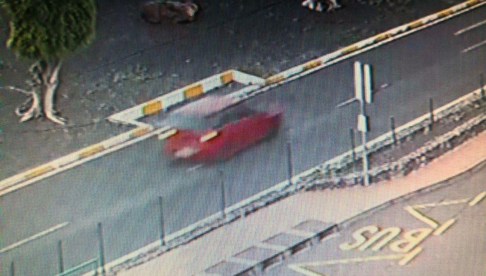 Coche huido tras un atropello mortal en Tenerife