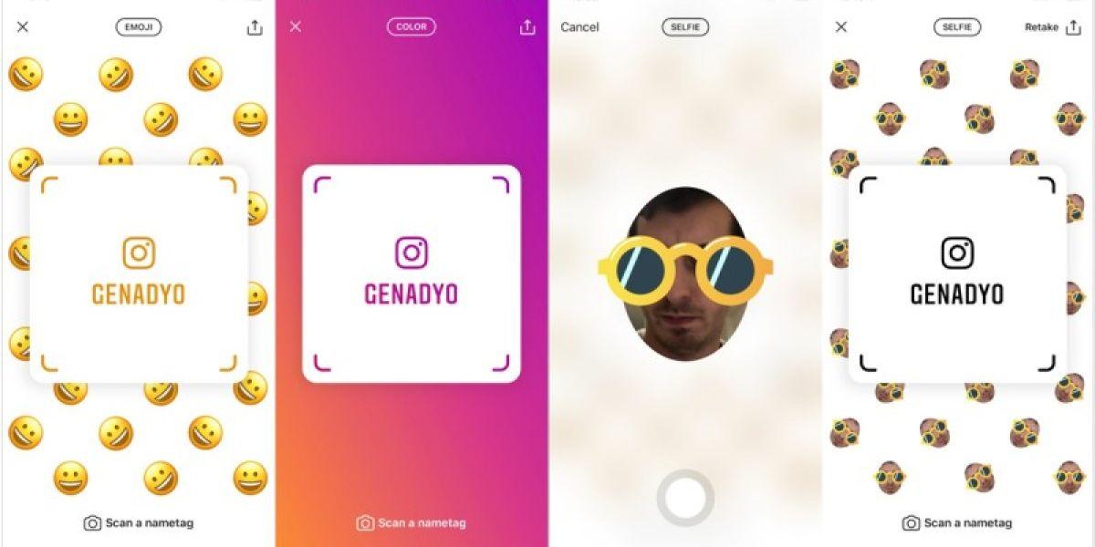 Nametags, la última novedad de Instagram