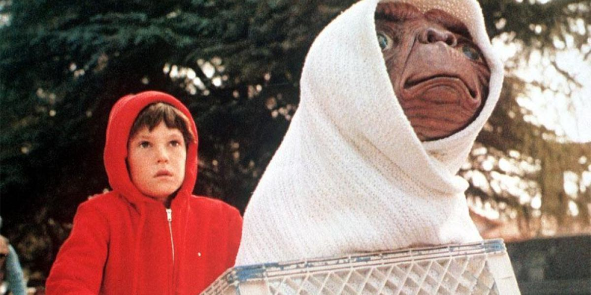 Frame de la película E.T. , el extraterrestre