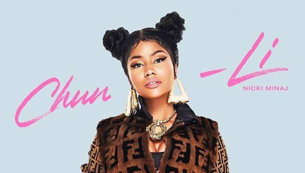 Nicki Minaj en la portada de su single 'Chung-Li'