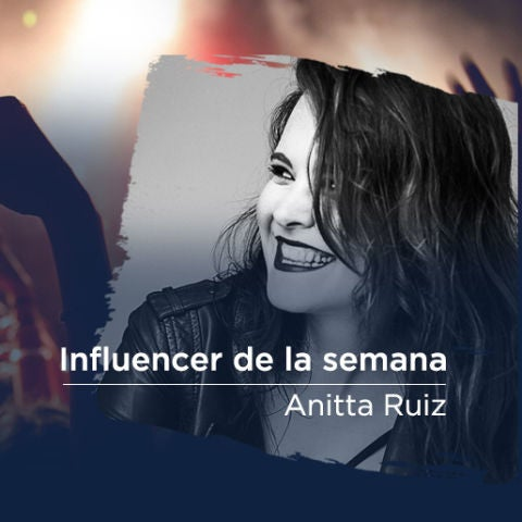 Anitta Ruiz, la influencer de la semana en We Sound