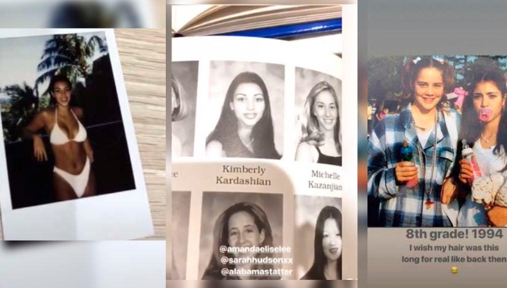 Kim Kardashian de adolescente