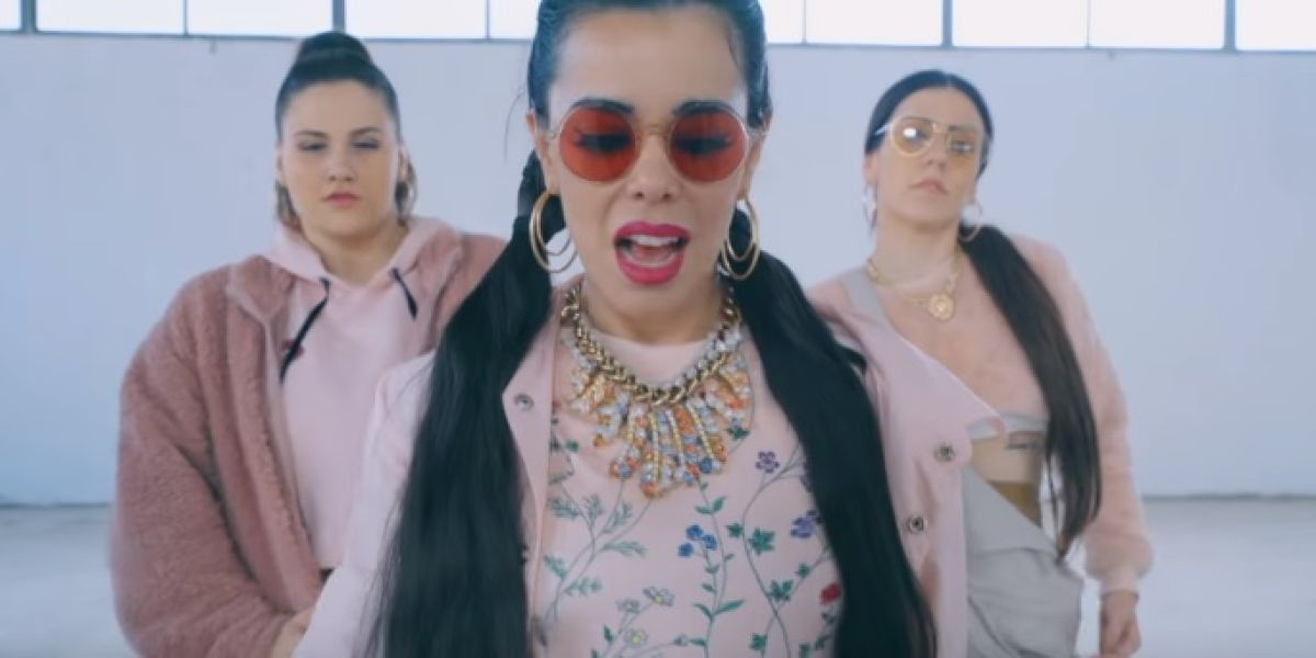 Beatriz Luengo en el videoclip de 'Caprichosa'