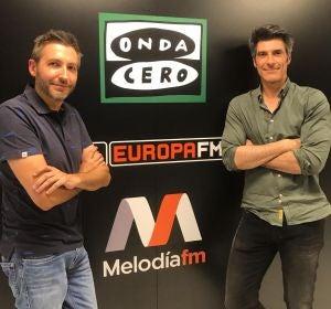 Frank Blanco y Jorge Fernández
