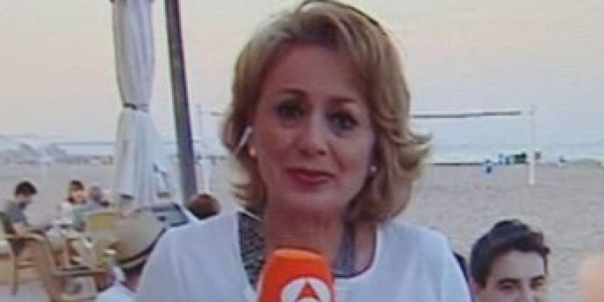 Cristina Aguirre de Antena 3 Noticias