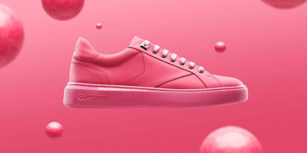 Las primeras zapatillas fabricadas con chicle reciclado