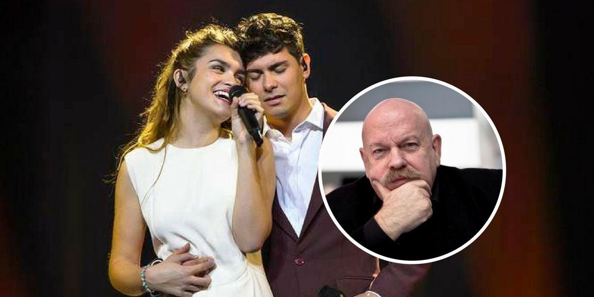 Homenaje de Albert a José María Íñigo desde Eurovisión