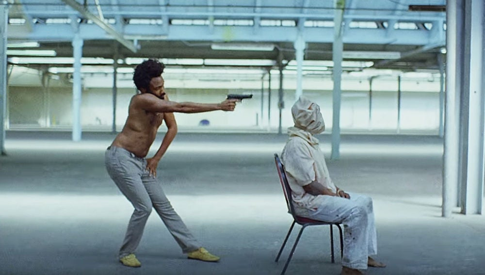 Childish Gambino en el vídeo de 'This Is America'