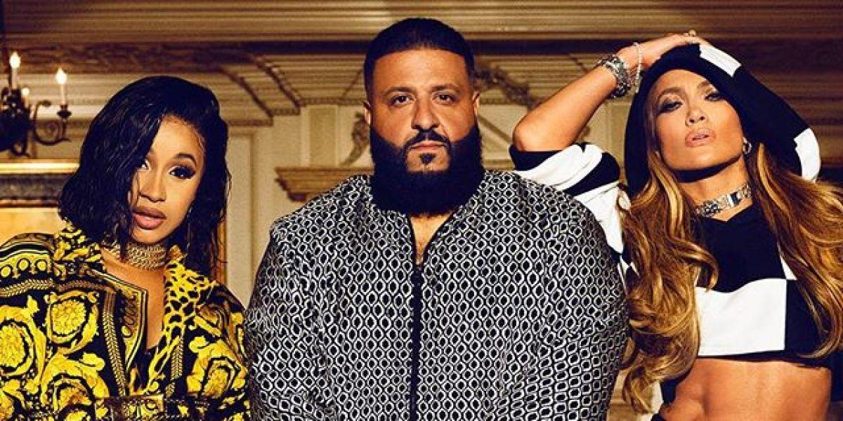 Cardi B, DJ Khaled y Jennifer Lopez presentan 'Dinero'