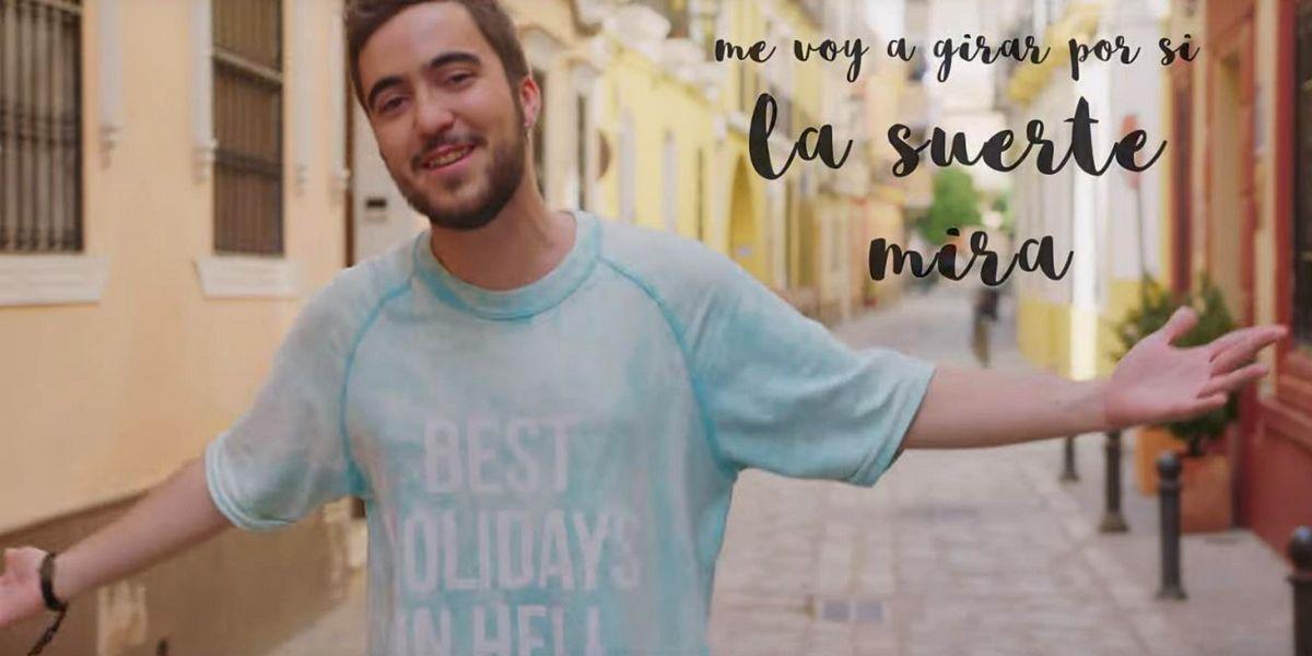 Beret en el vídeo 'El Mundo es Suyo'