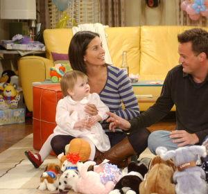 Monica y Chandler en Friends