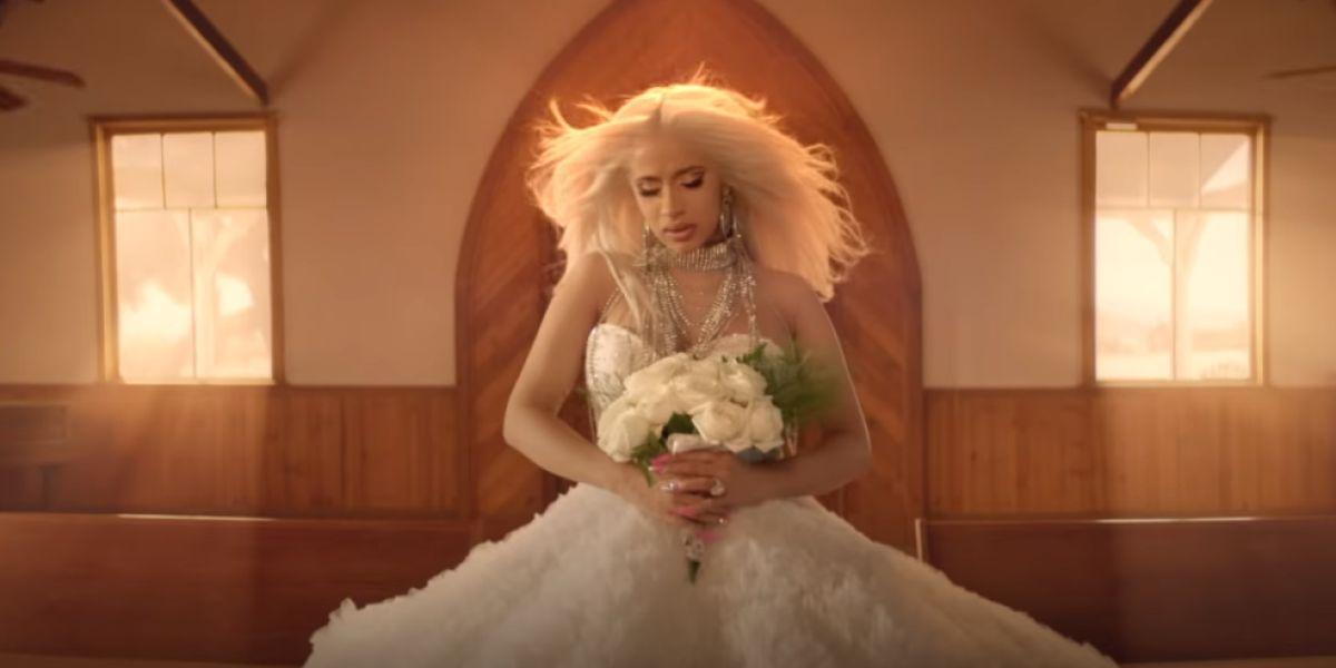 Cardi B en el vídeo de 'Be Careful'
