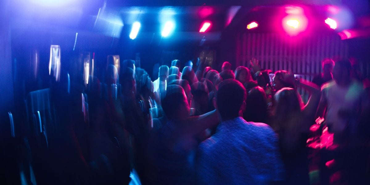 Imagen de archivo de una discoteca.
