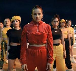 Rosalía en el videoclip de 'Malamente'