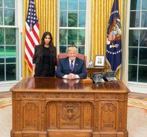 Reunión entre Donald Trump y Kim Kardashian