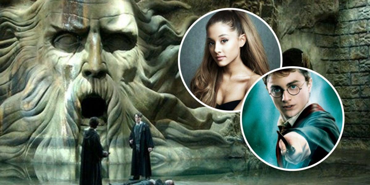 Ariana Grande y la cámara de los secretos