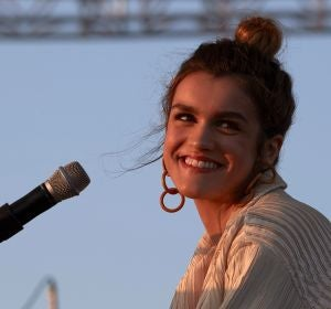 La cantante Amaia actúa por primera vez en solitario