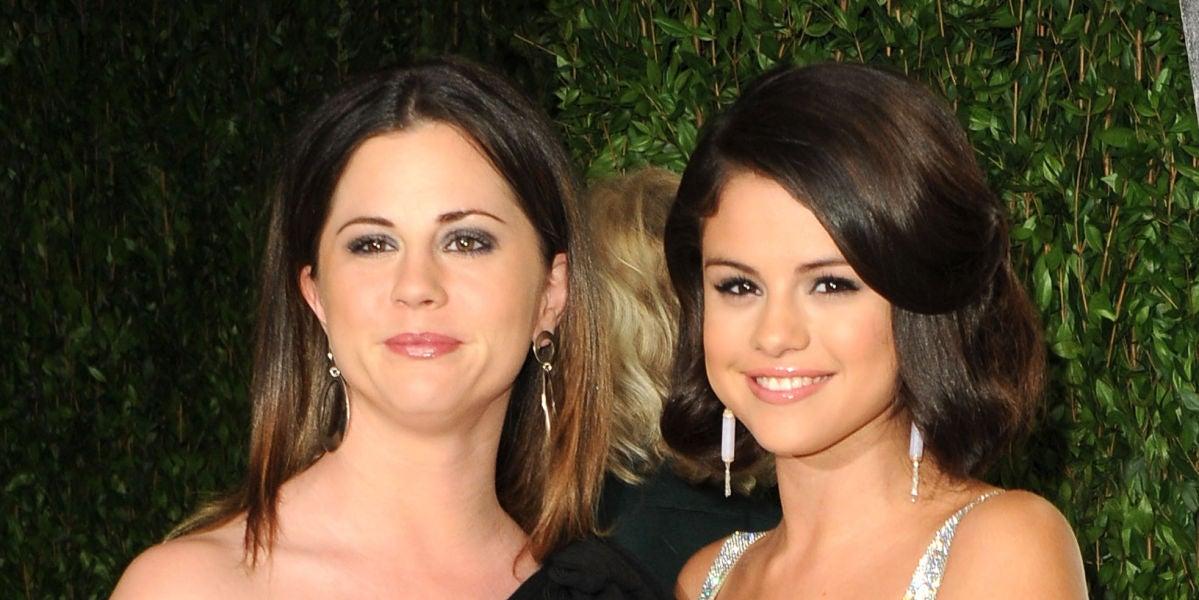 Selena Gomez y su madre