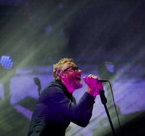 Matt Berninger de The National, en su concierto en el Primavera Sound