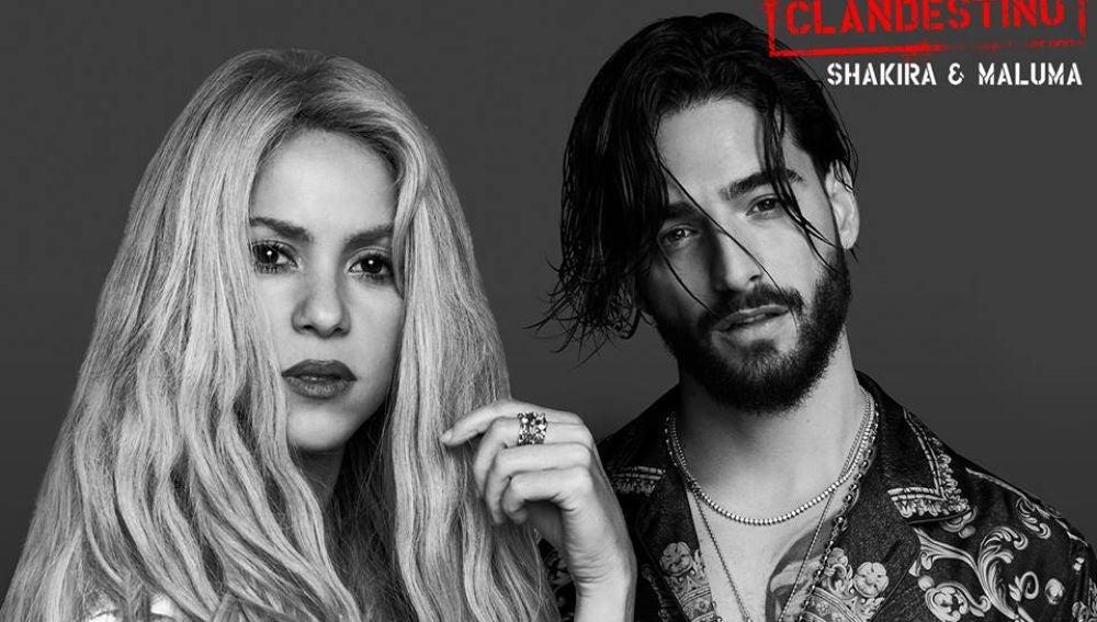 Shakira y Maluma presentan 'Clandestino'