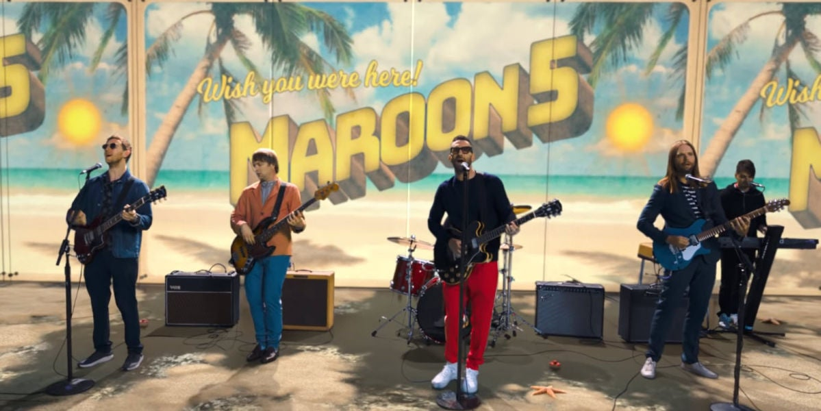 Maroon 5 versiona 'Threee Little Birds' de Bob Marley