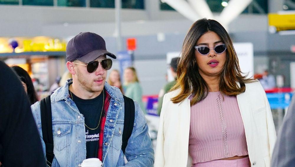 Nick Jonas y Priyanka Chopra, juntos en Nueva York